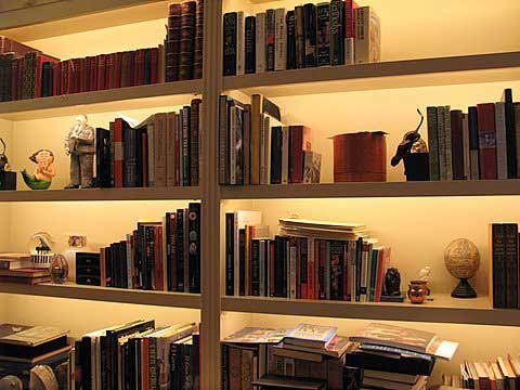 If The Bookcase Has Already Been Built We Recommend Installing Phantom AE Adjustable Exposed Lights Series Linear Lighting Strips