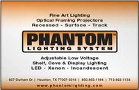Phantom Lighitng Recommended by Texas Society of Architects (TSA)