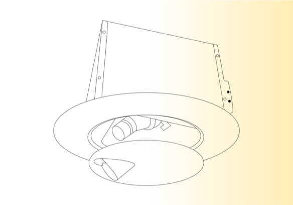 Float Finish LED Projector