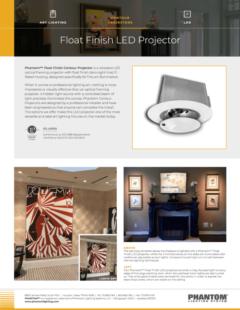 Float Finish LED Projector – LED