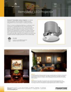Remodeler LED Projector – LED