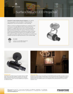 Surface Mount LED Projector – LED