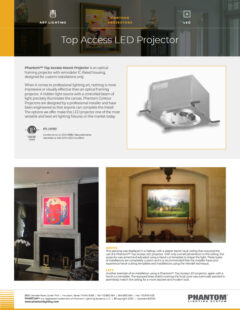 Top Access LED Projector – LED